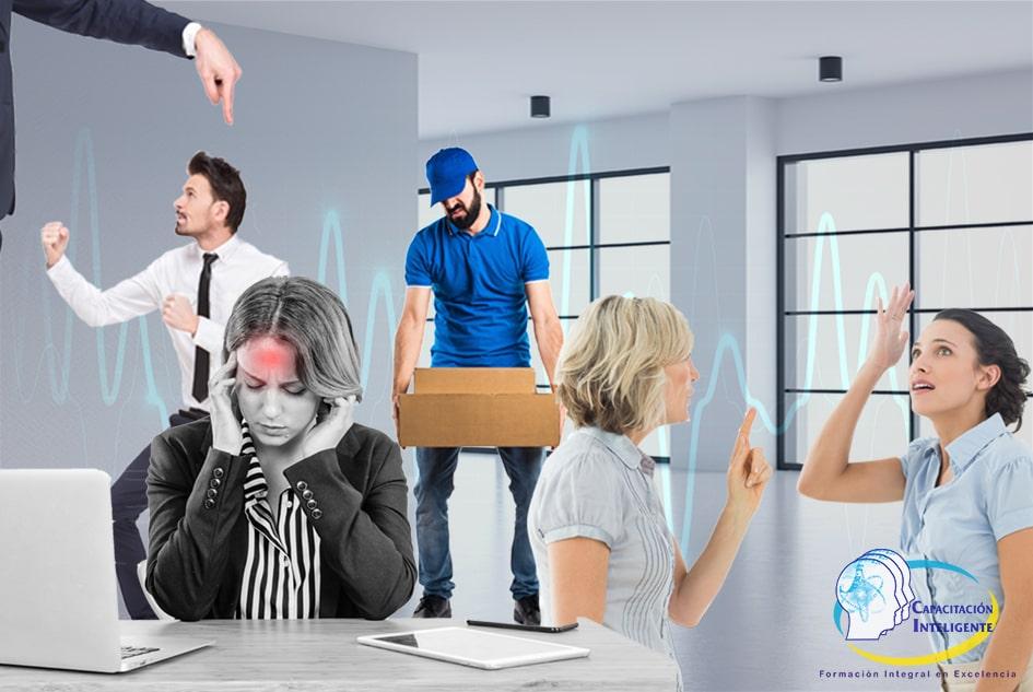 Factores de Riesgo Psicosocial en el Trabajo - NOM-035-STPS-2018 @ Capacitación Inteligente - ONLINE